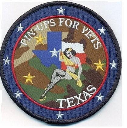 Texas Pin-Ups for Vets patch